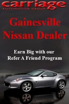 Carriage Nissan poster