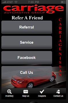 Carriage Nissan apk screenshot