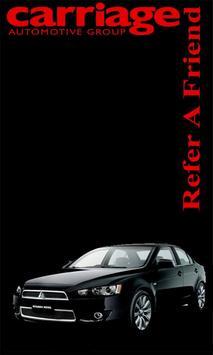 Carriage Mitsubishi poster