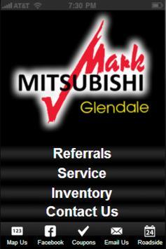Mark Mitsubishi Glendale poster