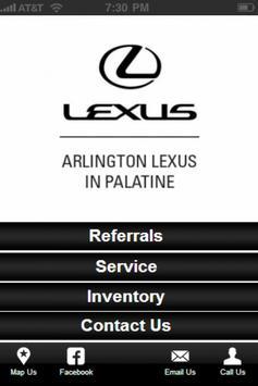 Arlington Lexus poster
