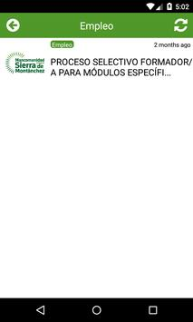 Sierra de Montánchez apk screenshot