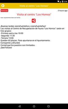 Sierra de Fuentes apk screenshot