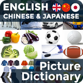 Picture Dictionary EN-CN-JA icon