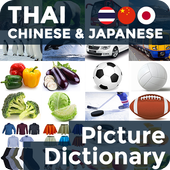 Picture Dictionary TH-CN-JA icon