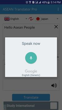 ASEAN Translator Pro apk screenshot