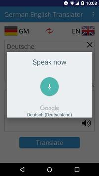 German English Translator apk screenshot