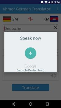 Khmer German Translator apk screenshot