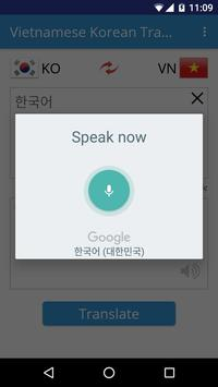 Vietnamese Korean Translator apk screenshot