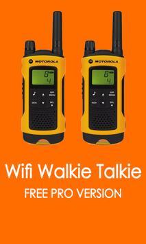Walkie Talkie Wifi Pro Free poster