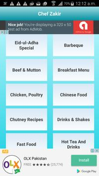 Chef Zakir Pakistani Recipes apk screenshot