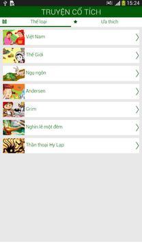 Truyện Cổ Tích Việt Nam 2014 apk screenshot