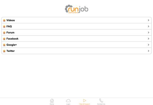 Runjob Software apk screenshot