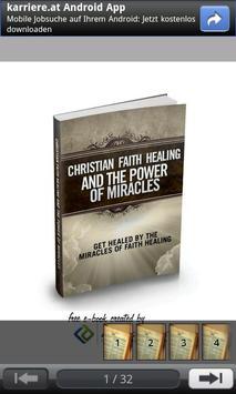 Christian Faith Healing poster