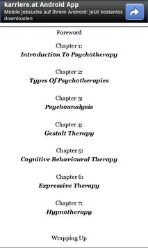 Guide to Psychotherapy apk screenshot