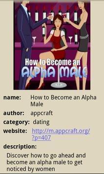 How to Become an Alpha Male poster
