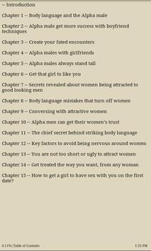 How to Become an Alpha Male apk screenshot