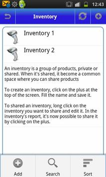 My Inventory (free) apk screenshot