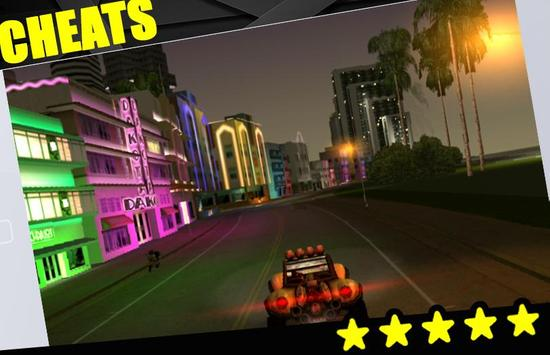Cheats For GTA Vice City apk screenshot
