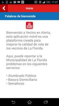 Vecino en Alerta La Florida apk screenshot