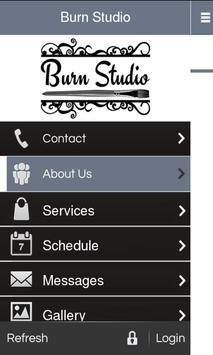 Burn Studio poster