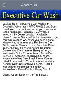 Executive Car Wash apk screenshot