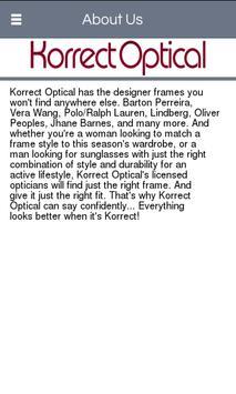 Korrect Optical apk screenshot