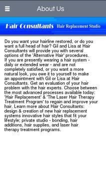 Hair Consultants apk screenshot
