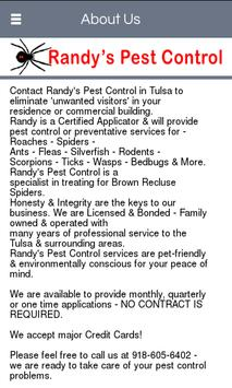 Randy's Pest Control poster