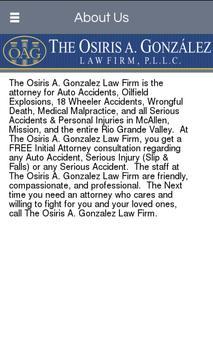The Osiris Gonzalez Law Firm apk screenshot