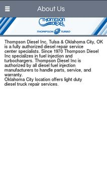Thompson Diesel Inc apk screenshot