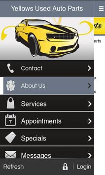 Yellows Used Auto Parts poster