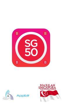 SG50 - SG Music poster
