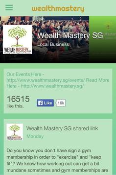 Wealth Mastery poster