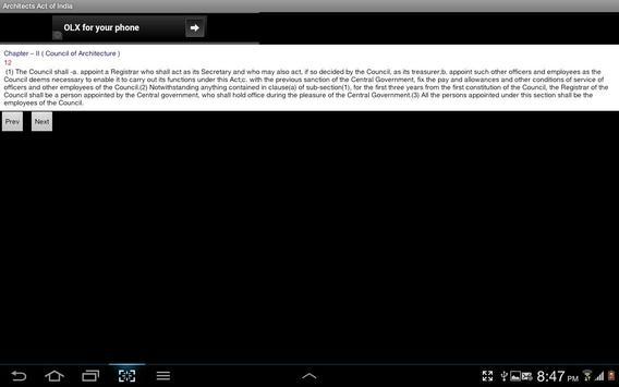 Architects Act - India apk screenshot