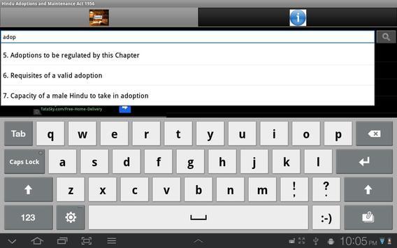 Hindu Adoption/Maintenance Act apk screenshot