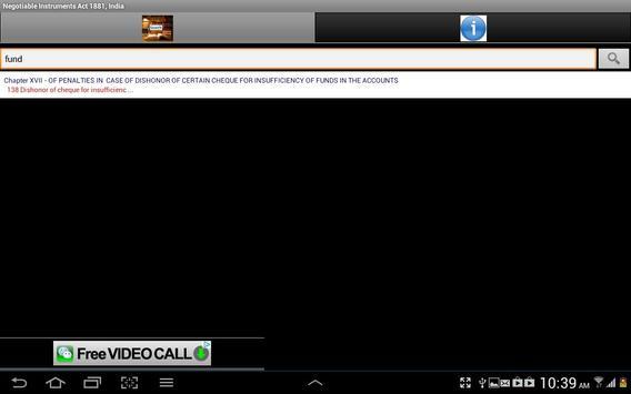 Negotiable Instruments Act1881 apk screenshot