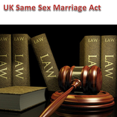 Same Sex Marriage Act of U K icon