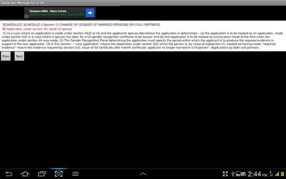 Same Sex Marriage Act of U K apk screenshot