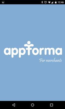 Appforma for Merchants poster