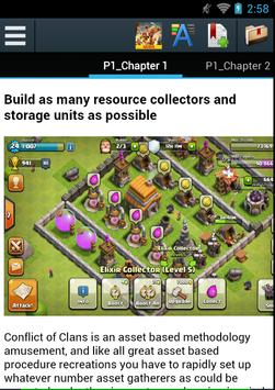 Guide For Clash of Clans Game apk screenshot