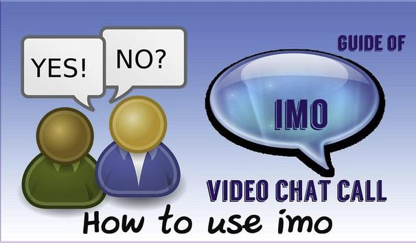 Video Chat IMO Guide poster