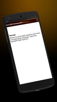 Cool Happy New year SMS 2017 apk screenshot