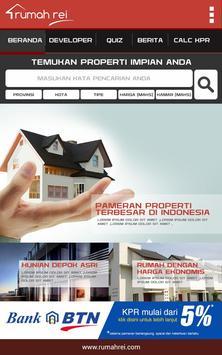Rumah REI poster