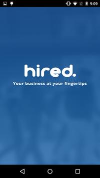 hired poster