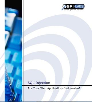 hacking sql injection poster