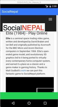 Social Nepal poster