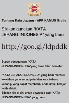 KATA JEPANG - INDONESIA poster