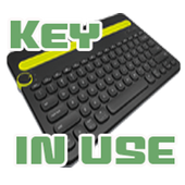 Keyboard in Use icon