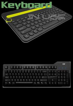 Keyboard in Use apk screenshot